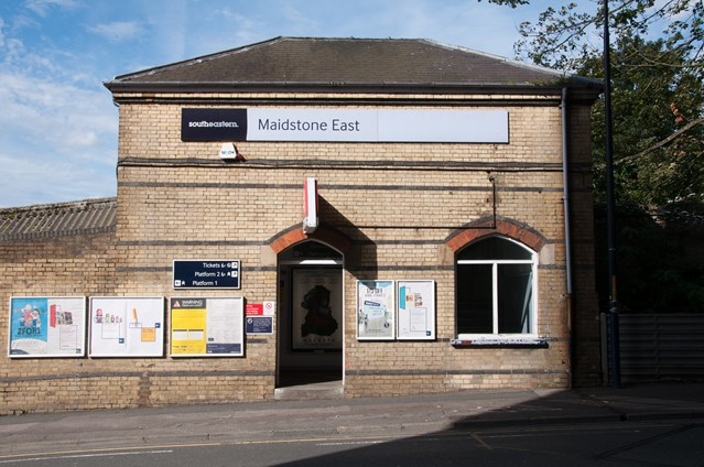Boost for Kent rail passengers as Maidstone East station redevelopment moves forward: Maidstone East Main Entrance (1)