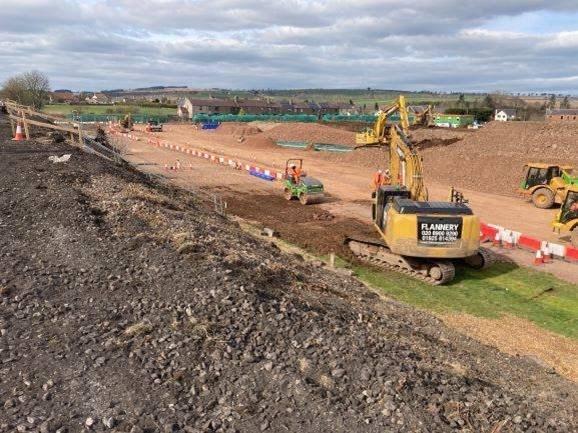 21 March embankment widening 1