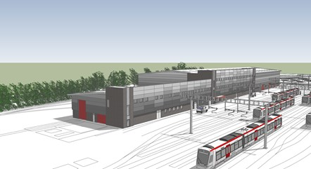Taffs Well Depot Artist Impression 2