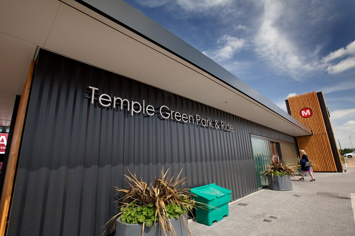 Temple Green Park and Ride: A proposed expansion of Temple Green Park and Ride will see 400 additional spaces at the facility in east Leeds created.