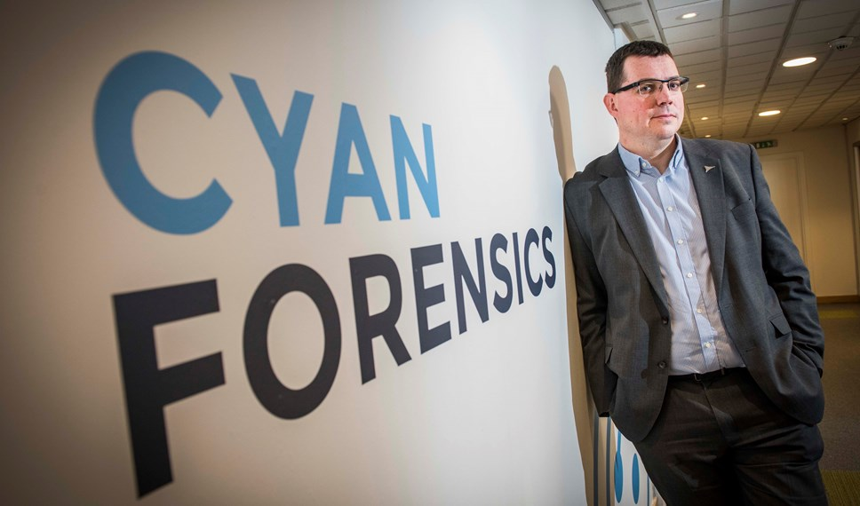 Digital forensics firm targets new markets after £1.3m funding round: Cyan Forensics - Ian Stevenson 2