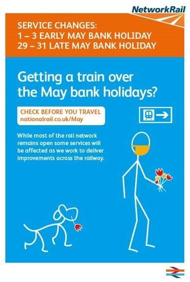 May Bank Hols Poster