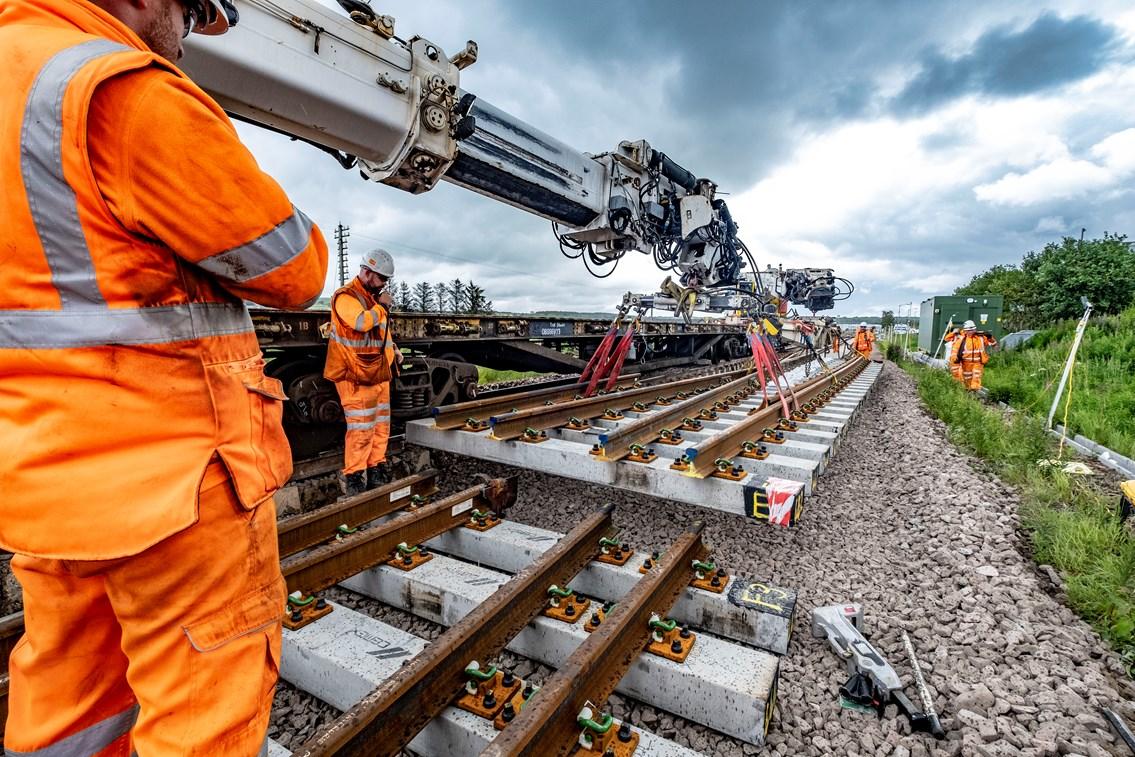 Aberdeen-Inverness line to reopen on-time for passengers: Aberdeen Inverness double-tracking works