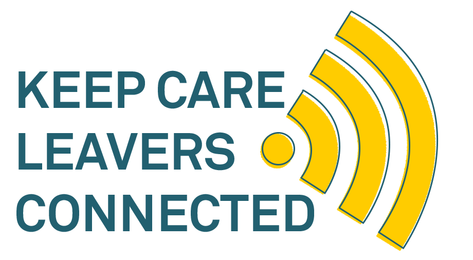 Keep Care Leavers Connected - campaign logo