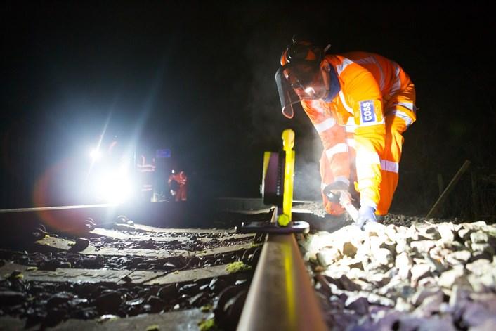 Metro work Jan 2021