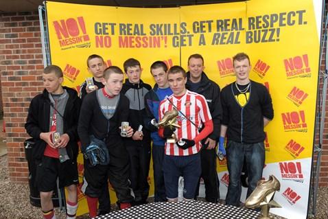 U16 winners - Merrill