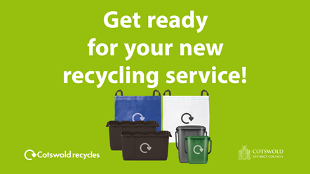 Get ready for your new recycling service: New Waste Services