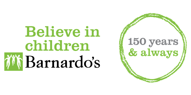 Network Rail offers young people jobs support through Barnardo's partnership: Barnardo's logo  150th stamp colour-2