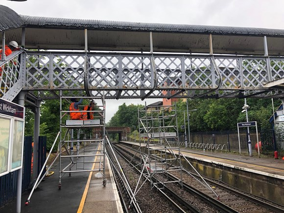West Wickham footbridge upgrade