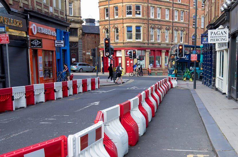 Consultation starts on next phase of emergency walking and cycling plans: Widening pavements in the city centre