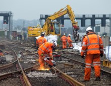 Cardiff Central modernisation work