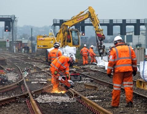 Cardiff Central modernisation work
