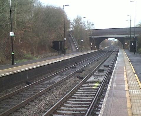 Wilnecote Station - Vandalism