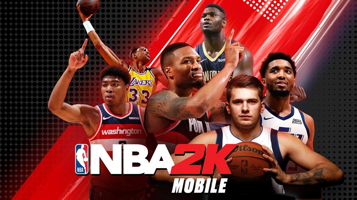 NBA 2K Mobile Season 4 Key Art