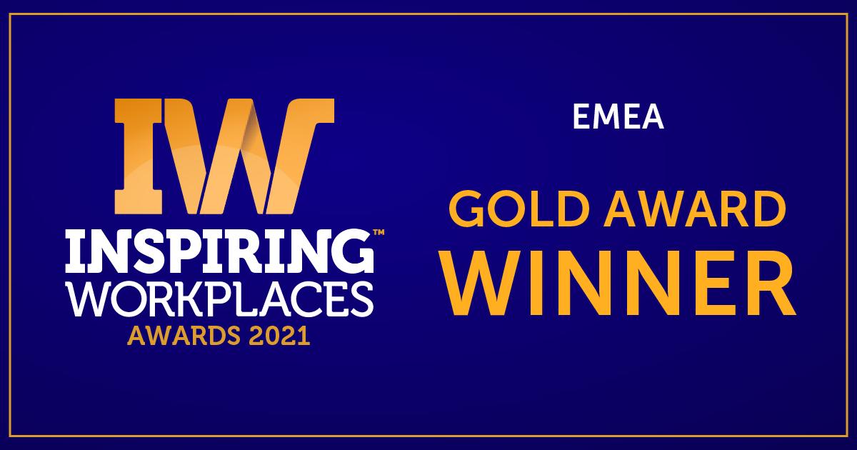 Inspiring Workplaces Gold Award Winner: Logo