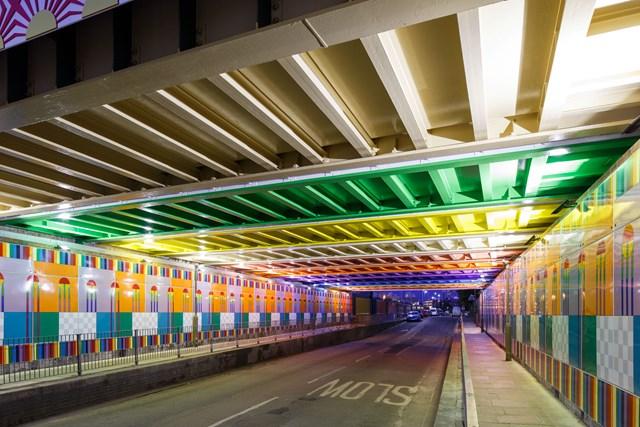 Happy Street tunnel at night Luke O'Donovan (002)