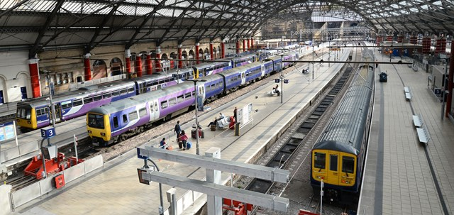 One week reminder for passengers before signalling upgrade closes Liverpool stations: Liverpool Lime Street station