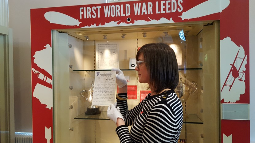Teenage soldier's last letter home goes on display ahead of Remembrance Sunday: 20171109-122737.jpg