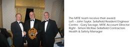 MITIE wins prestigious health and safety award at Sellafield