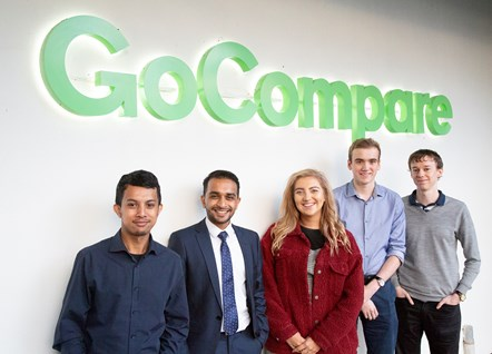 First students start GoCompare's flagship degree-apprenticeship programme: GoFurther Candidates