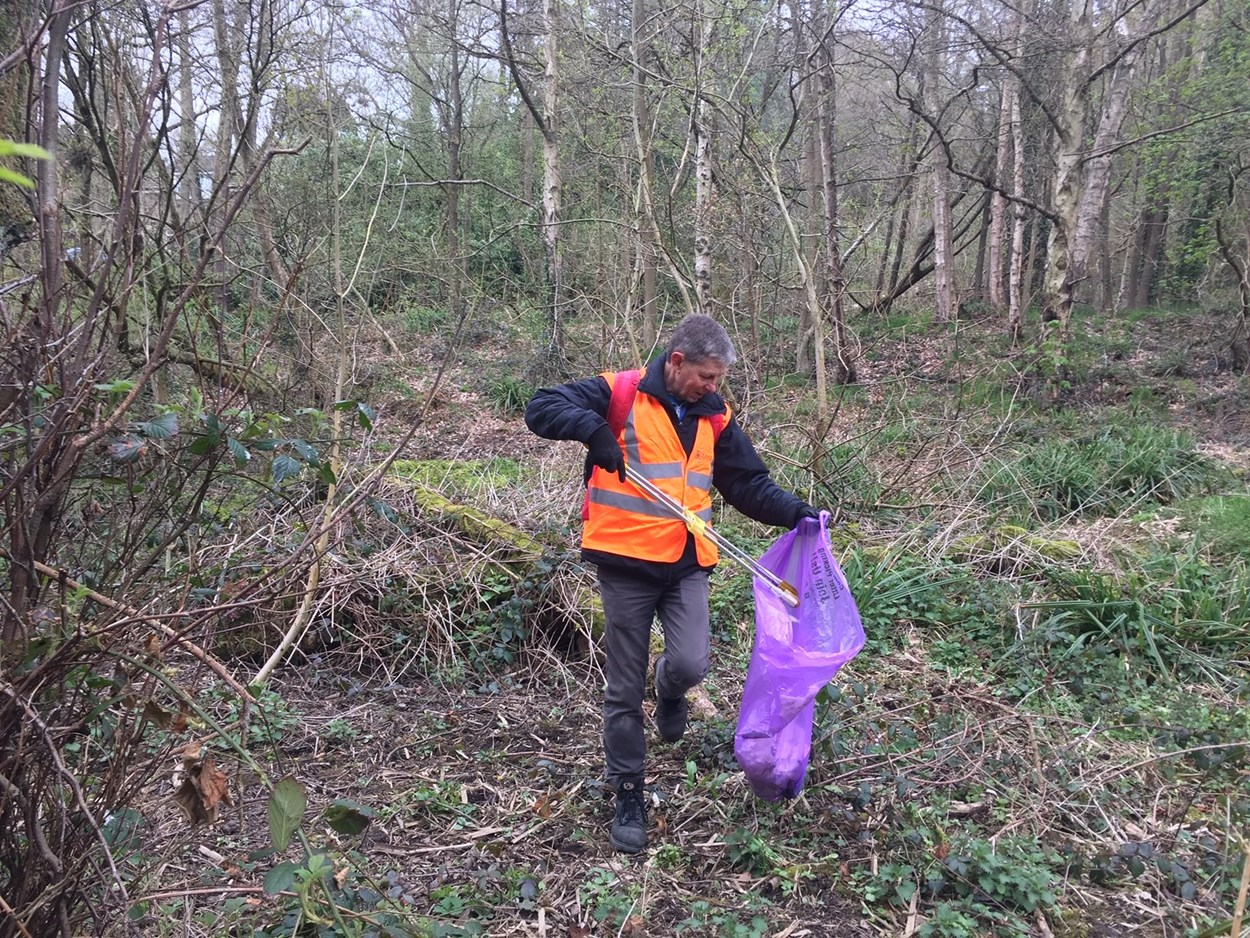 Volunteers in parks and green spaces: Volunteers play an extremely important role in ensuring that the city's parks and green spaces remain litter free and looking fantastic for visitors to enjoy.