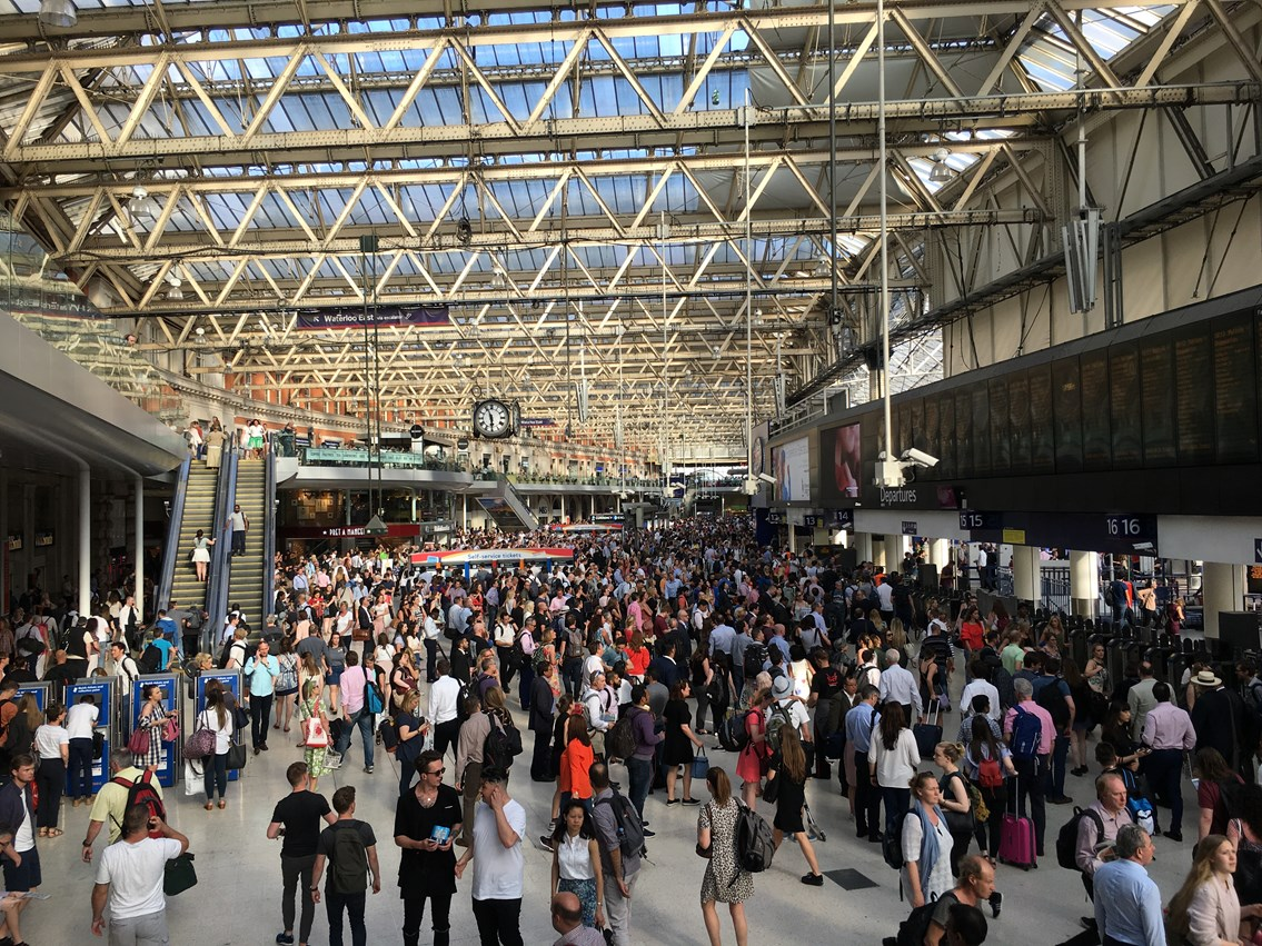 Improvements at some of London's busiest stations: Waterloo station-11