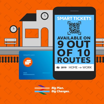 Smart tickets - 9/10 routes