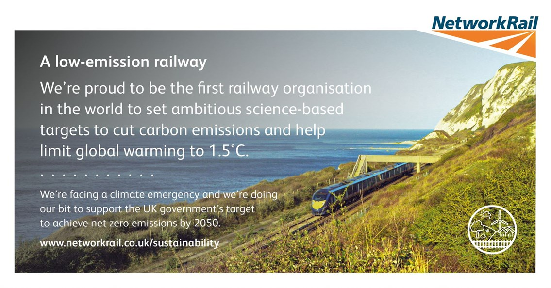 Network Rail sets world-first targets to combat global warming: NR Science-based targets