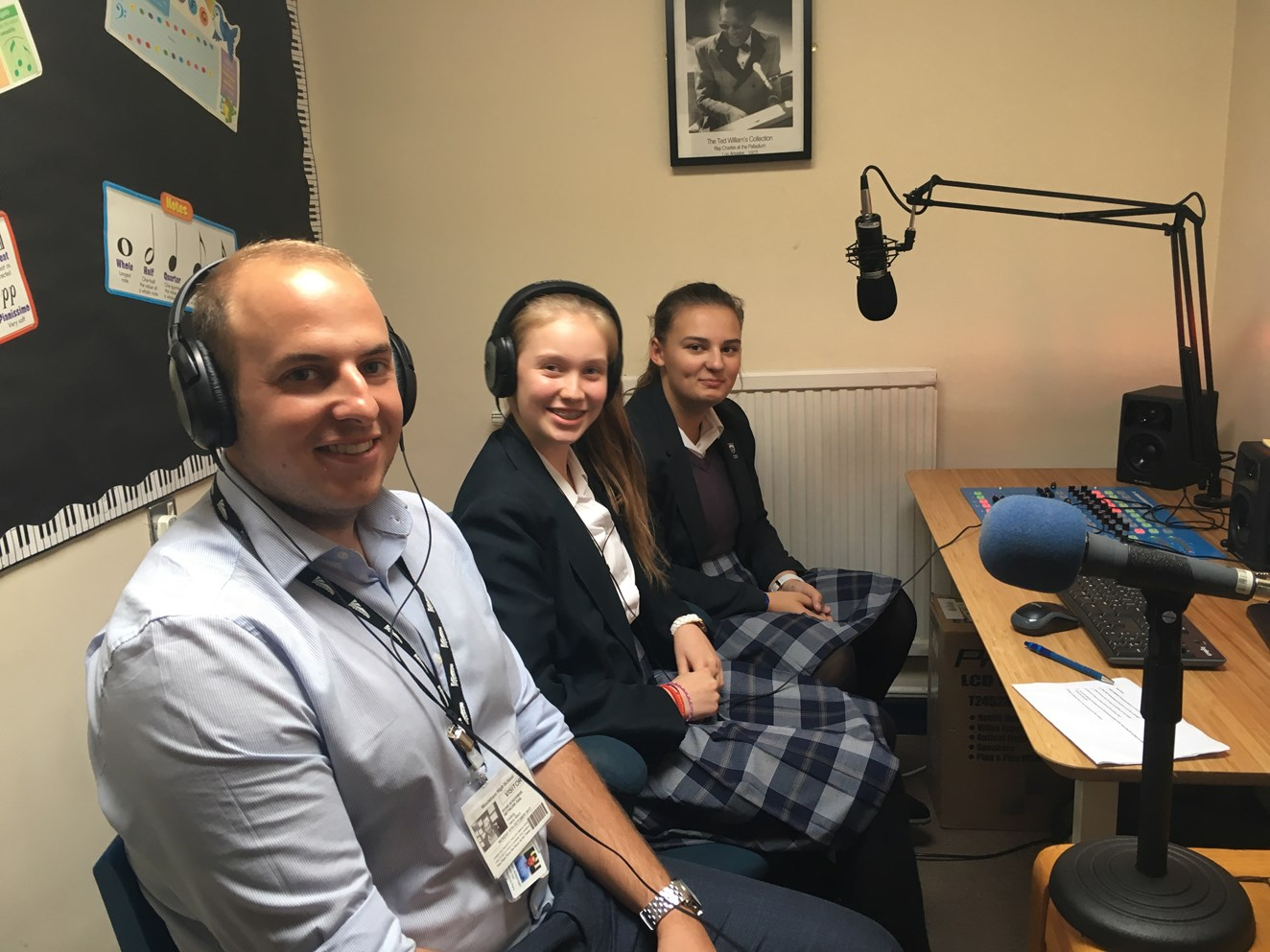 Chelmsford students quiz Network Rail's safety manager in school radio session: MHS Radio session 9 October 2017