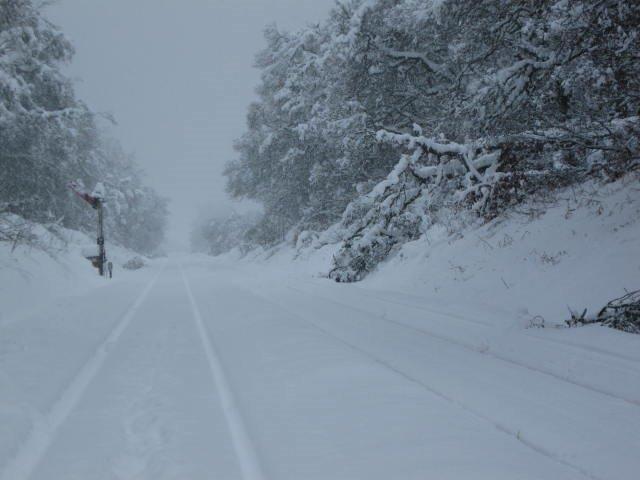 Snow covered railway (5)