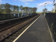 Livingston South station platforms 1-2