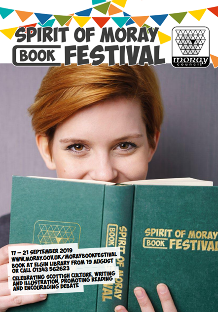 Spirit of Moray book festival tickets on sale: Spirit of Moray book festival tickets on sale