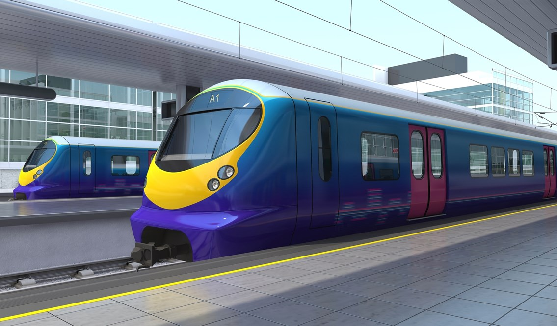 LUTON BRIDGE UPGRADE BRINGS LONGER TRAINS A STEP CLOSER: Thameslink next generation trains