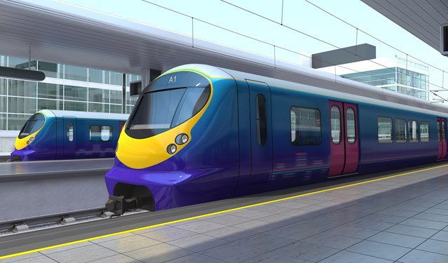 LONGER TRAINS FOR HARPENDEN A STEP CLOSER WITH XMAS BRIDGE UPGRADE: Thameslink next generation trains
