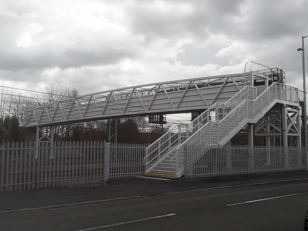 Opening of new £1.2m railway bridge reconnects Paisley communities: New Arkleston footbridge