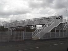 New Arkleston footbridge