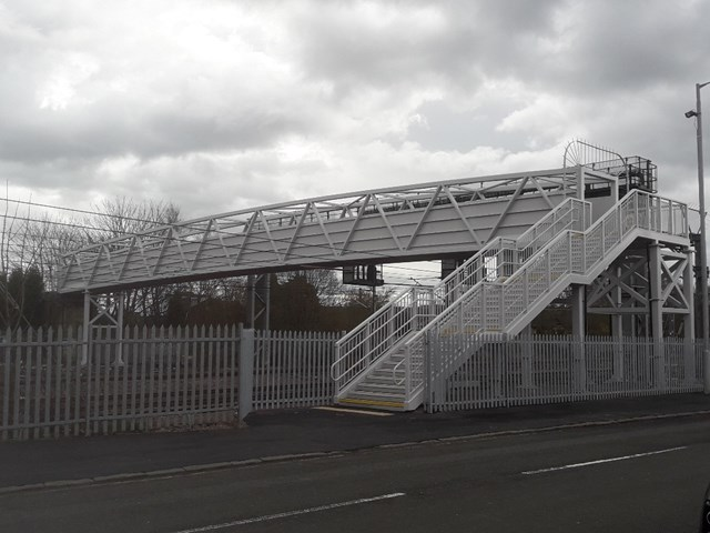 Opening of new £1.2m railway bridge reconnects Paisley communities: New Arkleston footbridge