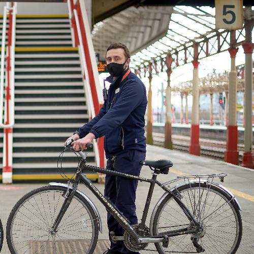 Crewe bike donations
