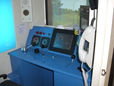 ERTMS train driver simulator