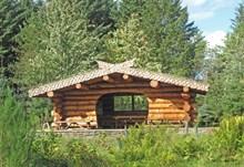 Dunnet Forest Log Cabin © David Glass