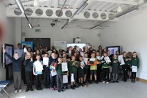 Pupils learning from A96 Dualling programme: A96 dualling STEM primary schools 1