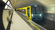New Merseyrail Trains - General Shot at Station