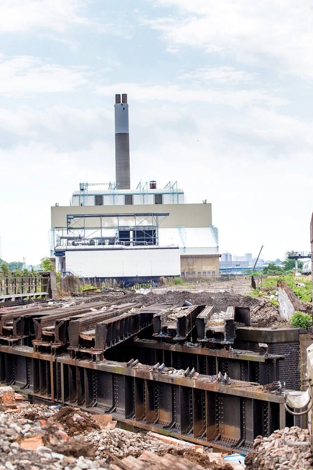 Thameslink (4 of 17): Demolition begins for the Bermondsey Dive Under - this track once carried Thameslink trains towards London Bridge