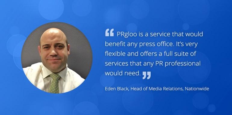 PRgloo & Nationwide - Making Life Easier: Marketing EdenBlack6