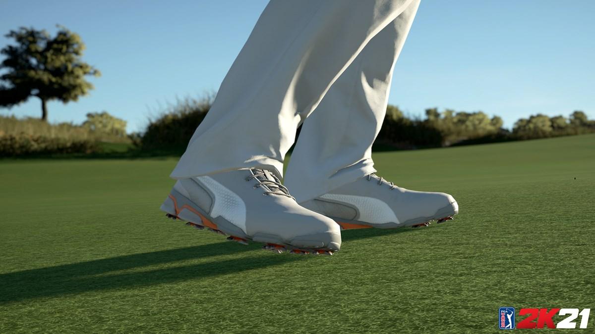 PGA TOUR 2K21 PUMA Golf Shoe 1