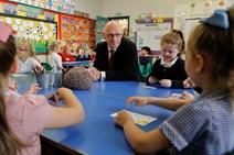 DFM visit to Ferryhill Primary