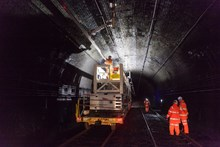 Severn Tunnel reopens to passengers as iconic milestone to prepare South Wales Mainline for electrification is completed: Severn Tunnel upgrade 1