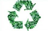 A touch of glass: Environment-recycle-bottles-green