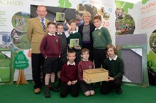School camera trap project - Roseanna Cunningham, Mike Cantlay and primary pupils