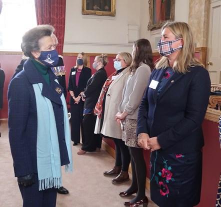 Her Royal Highness Tolbooth Visit - 13 October 2021-5